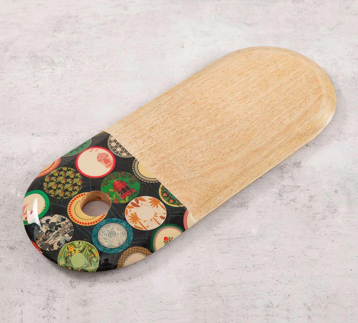 India Circus Platter Portrayal Chopping Board