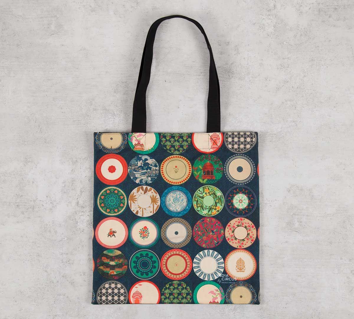 India Circus Platter Portrayal Jhola Bag