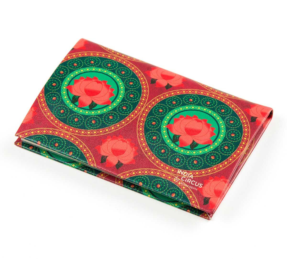 India Circus Platter Symmetry Visiting Card Holder