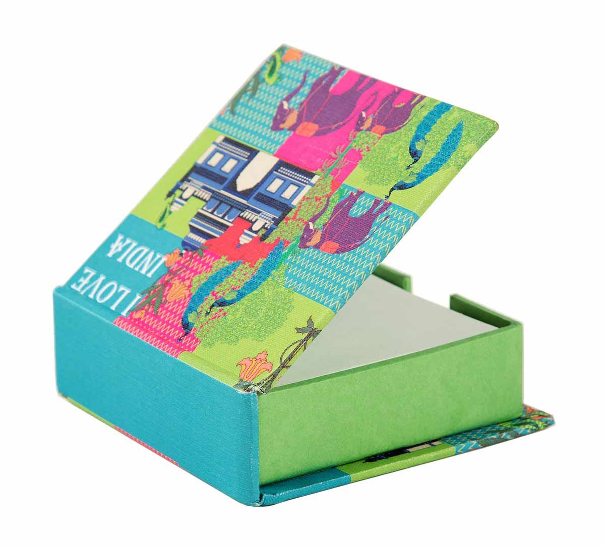 India Circus Pop Patriot Memo Pad Box