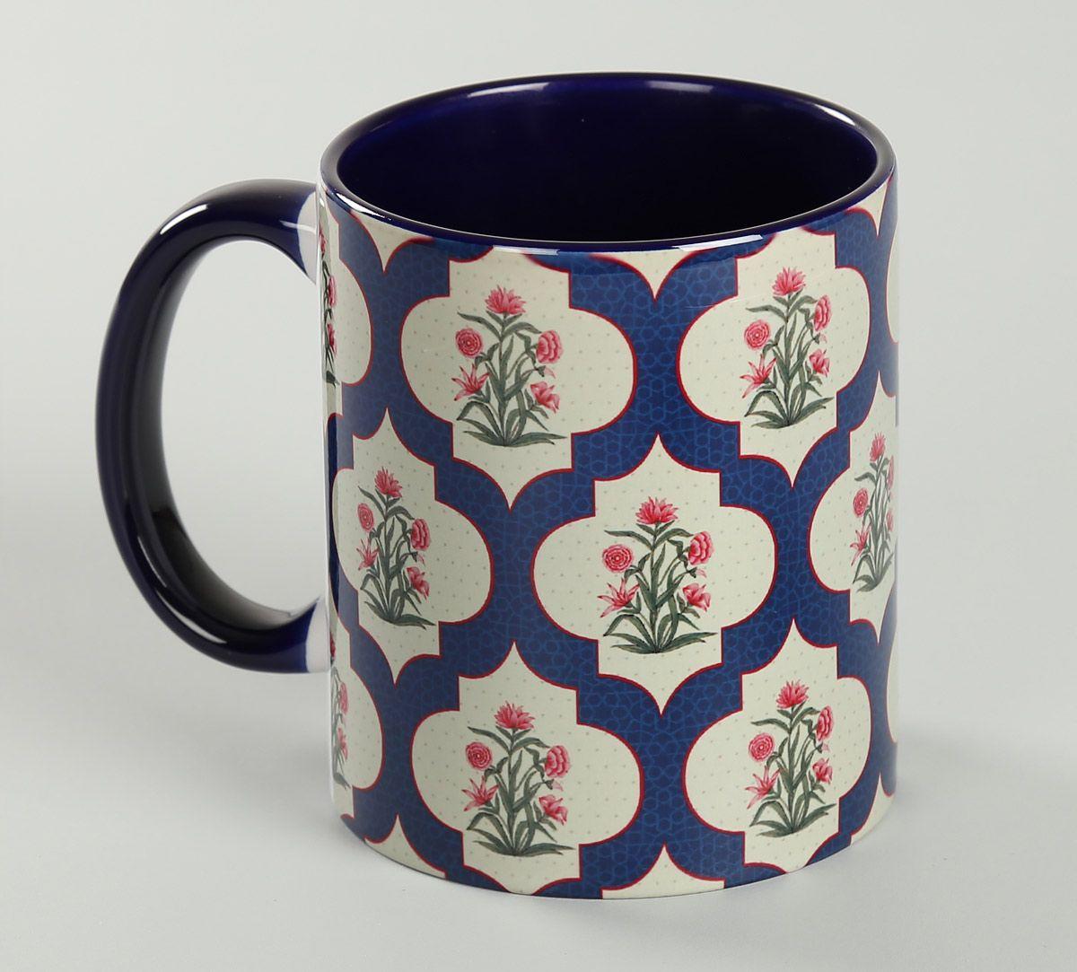 India Circus Poppy Flower Coffee Mug