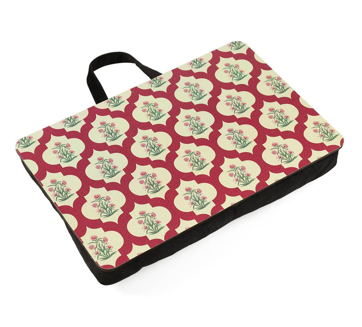 India Circus Poppy Flower Scarlet Lap Tray