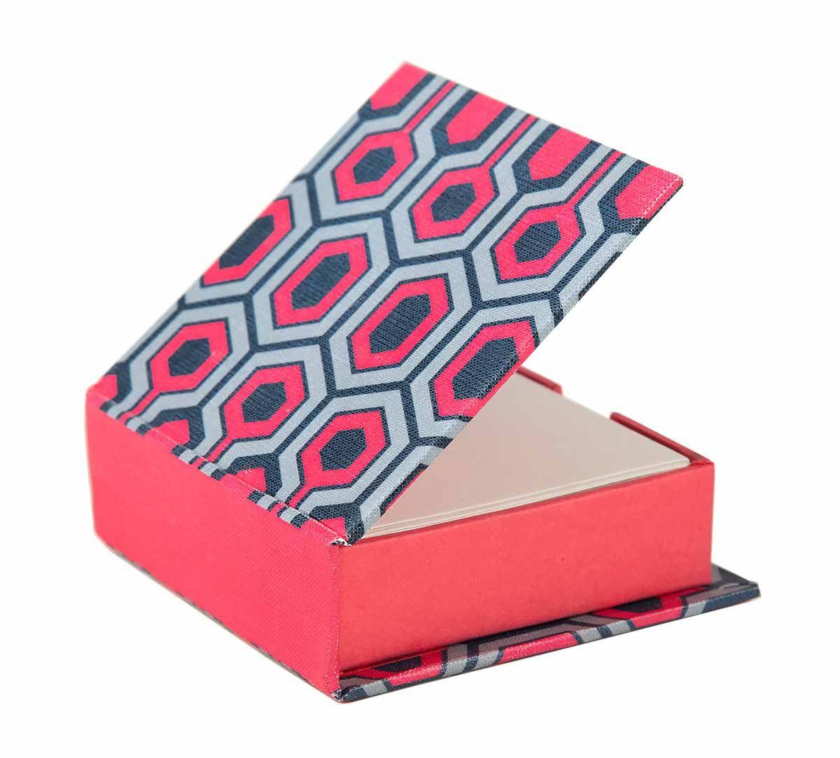 India Circus Prismatic Hexagons Memo Pad Box
