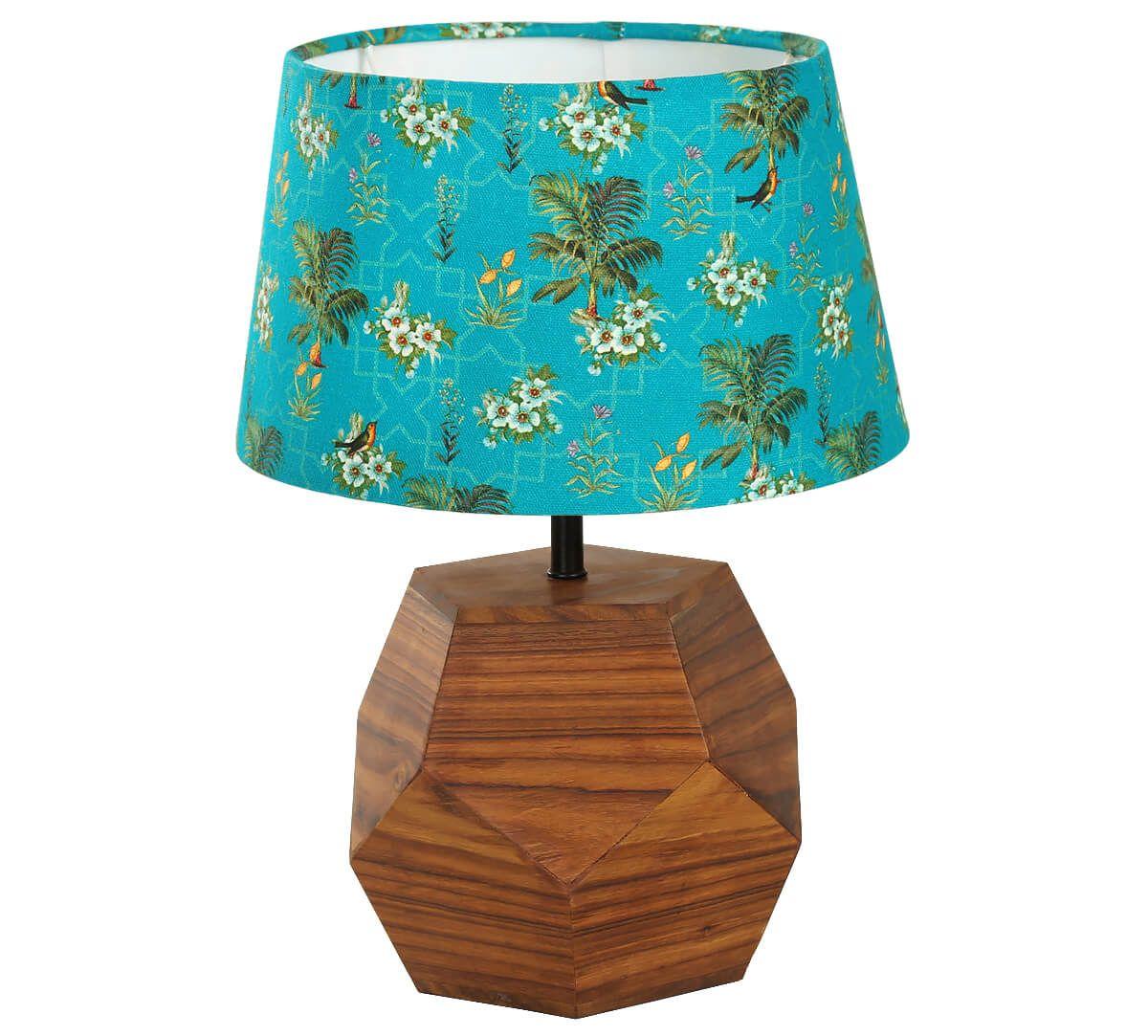 India Circus Robin Bird Park Hexagonal Lamp Shade