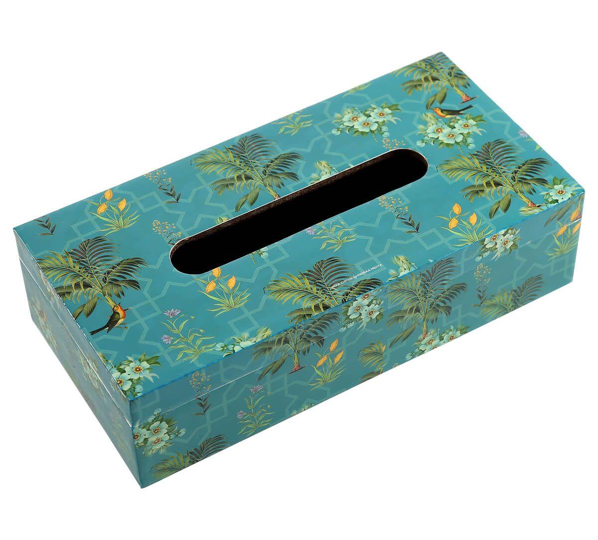 India Circus Robin Bird Park Tissue Box Holder