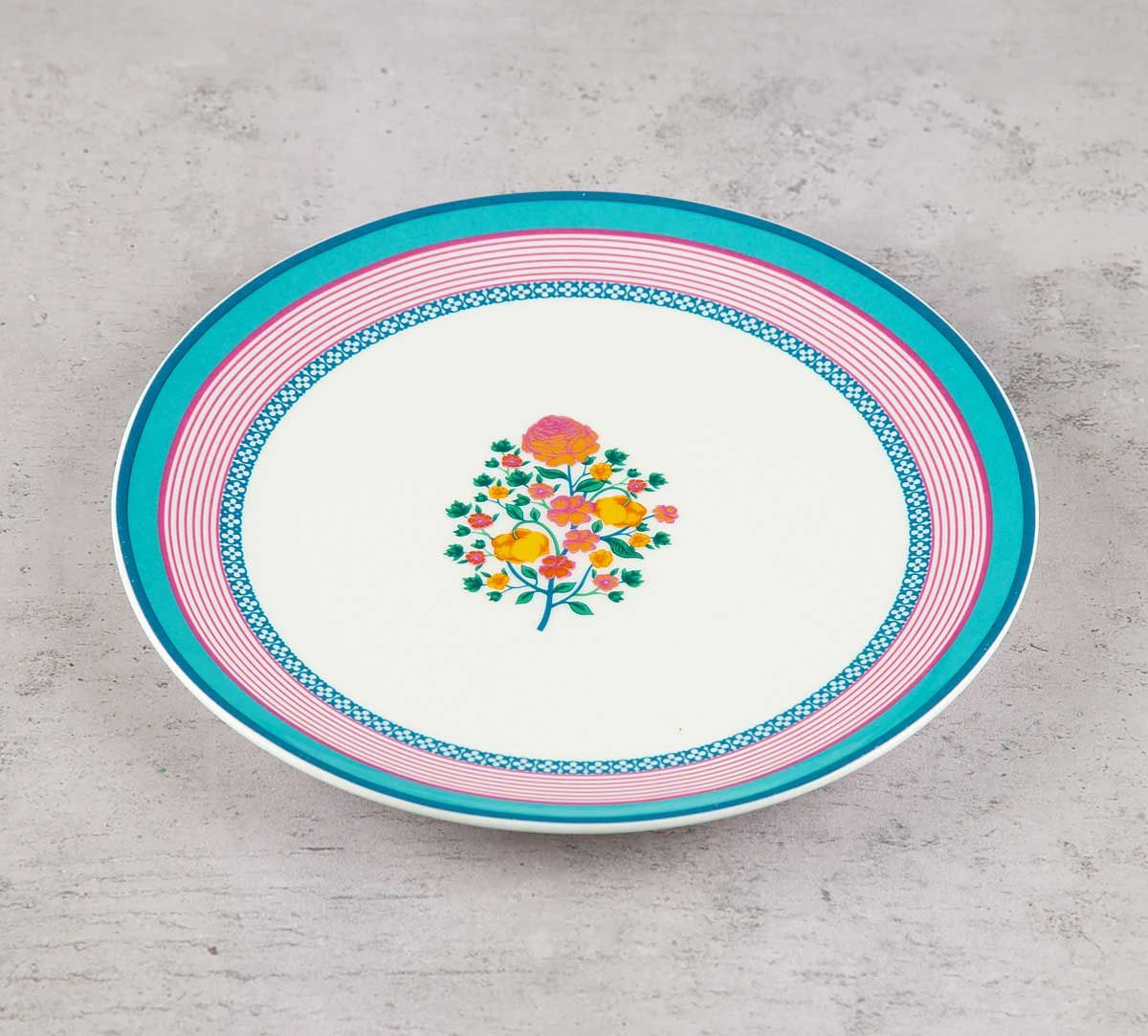 India Circus Rose Creeper Quarter Plate