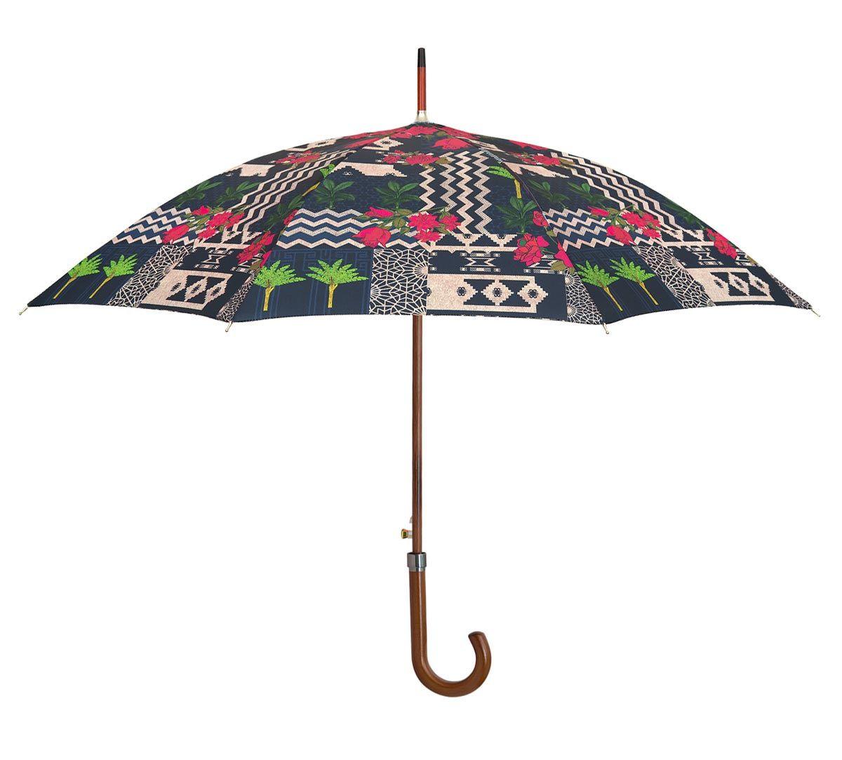 India Circus Rose Garden Maze Umbrella