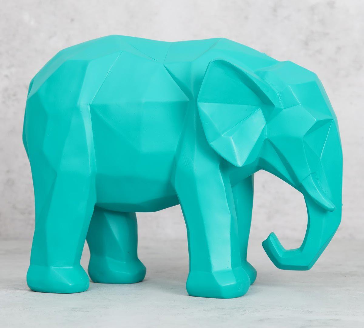 India Circus Savanna Tusker Figurine