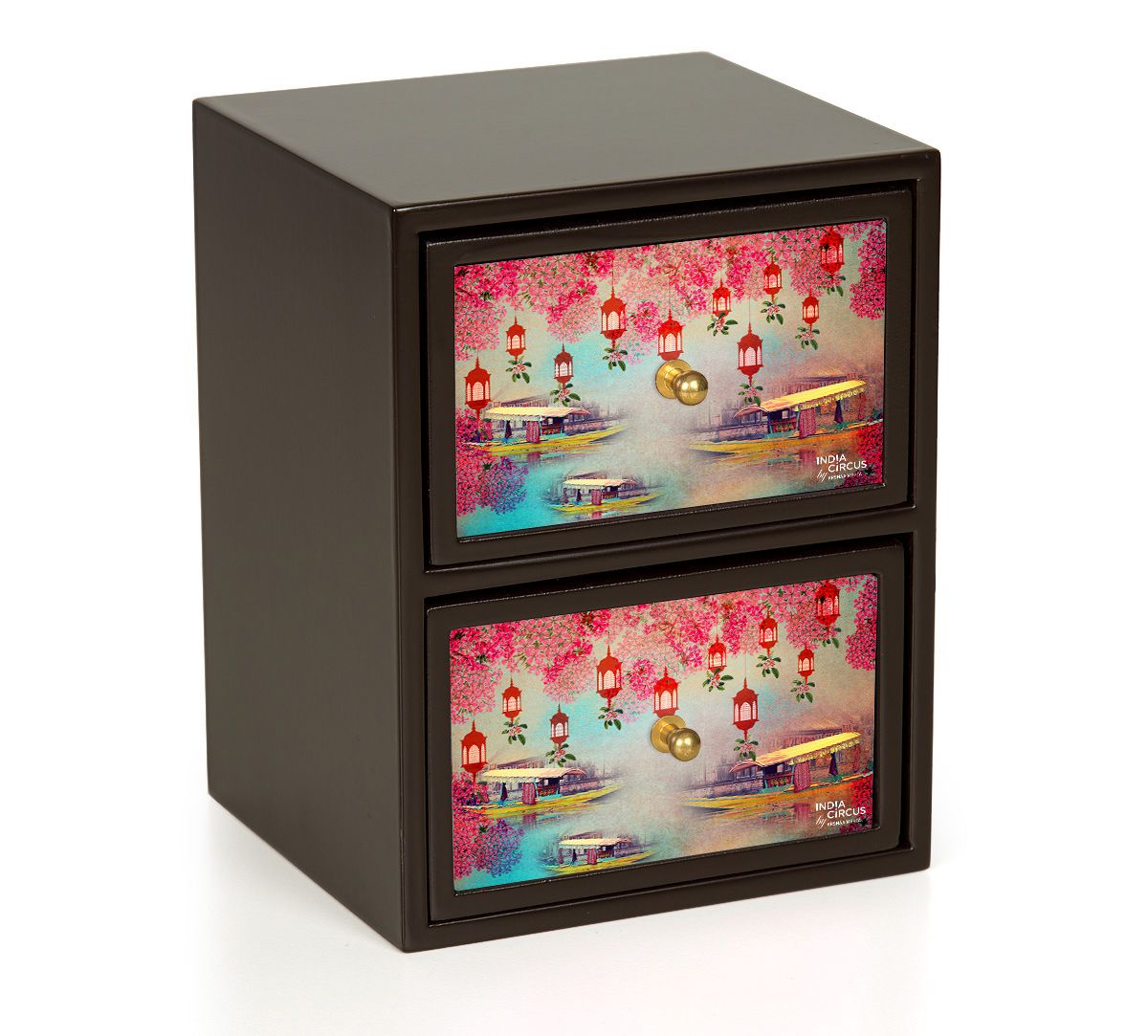 India Circus Scarlet Shadow Chest of Drawer
