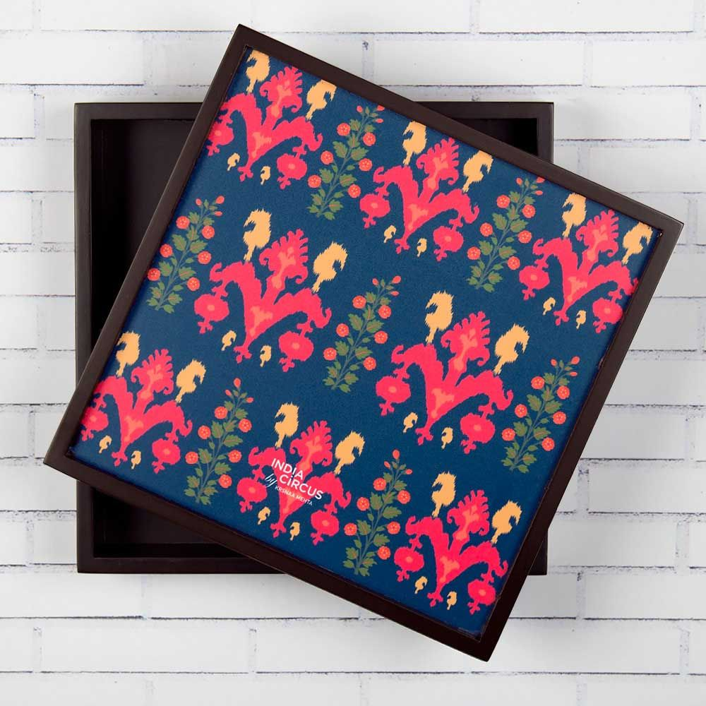 India Circus Sunshine Florist Small Storage Box