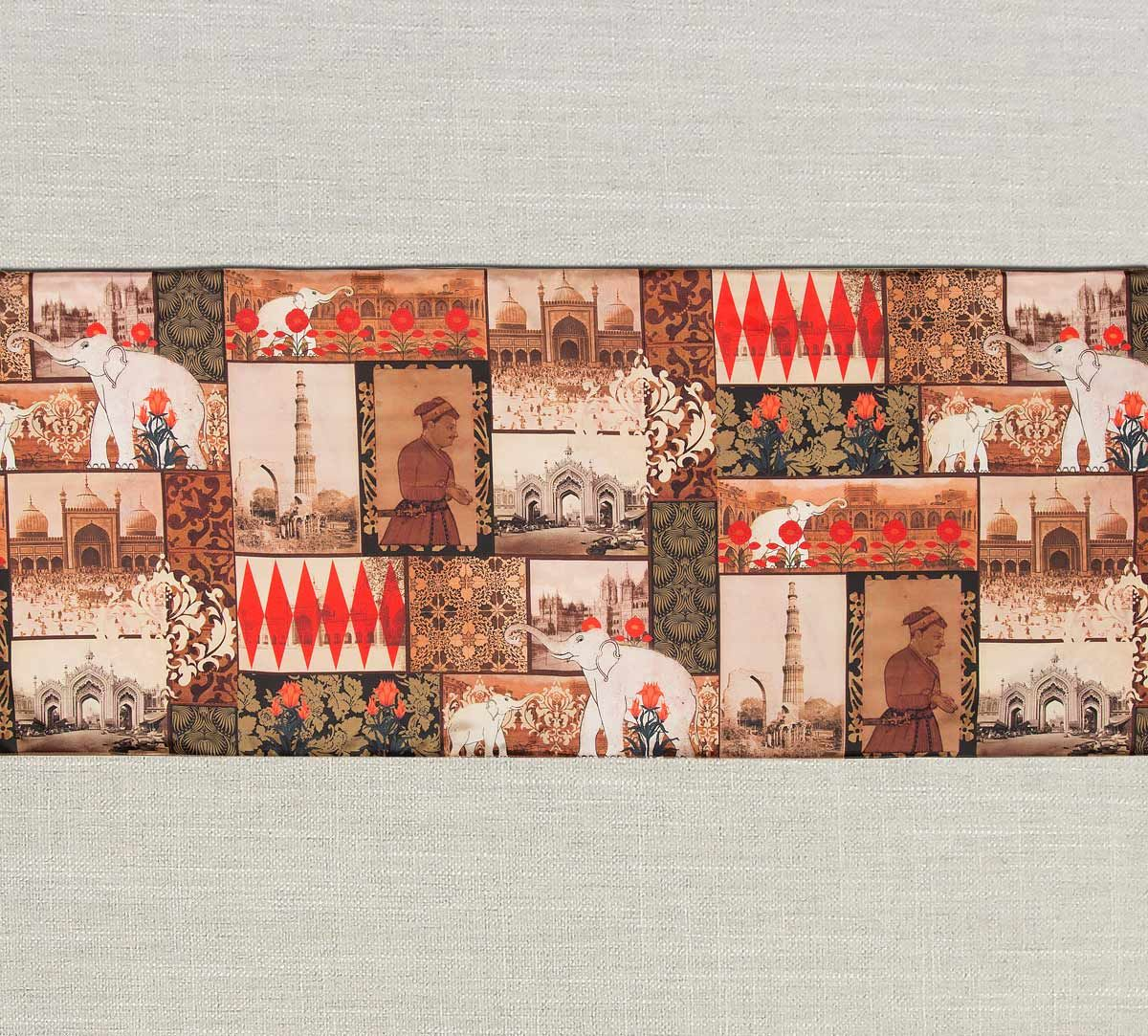 India Circus The Mughal Era Bed and Table Runner