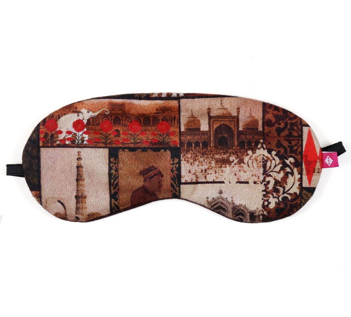 India Circus The Mughal Era Eye Mask