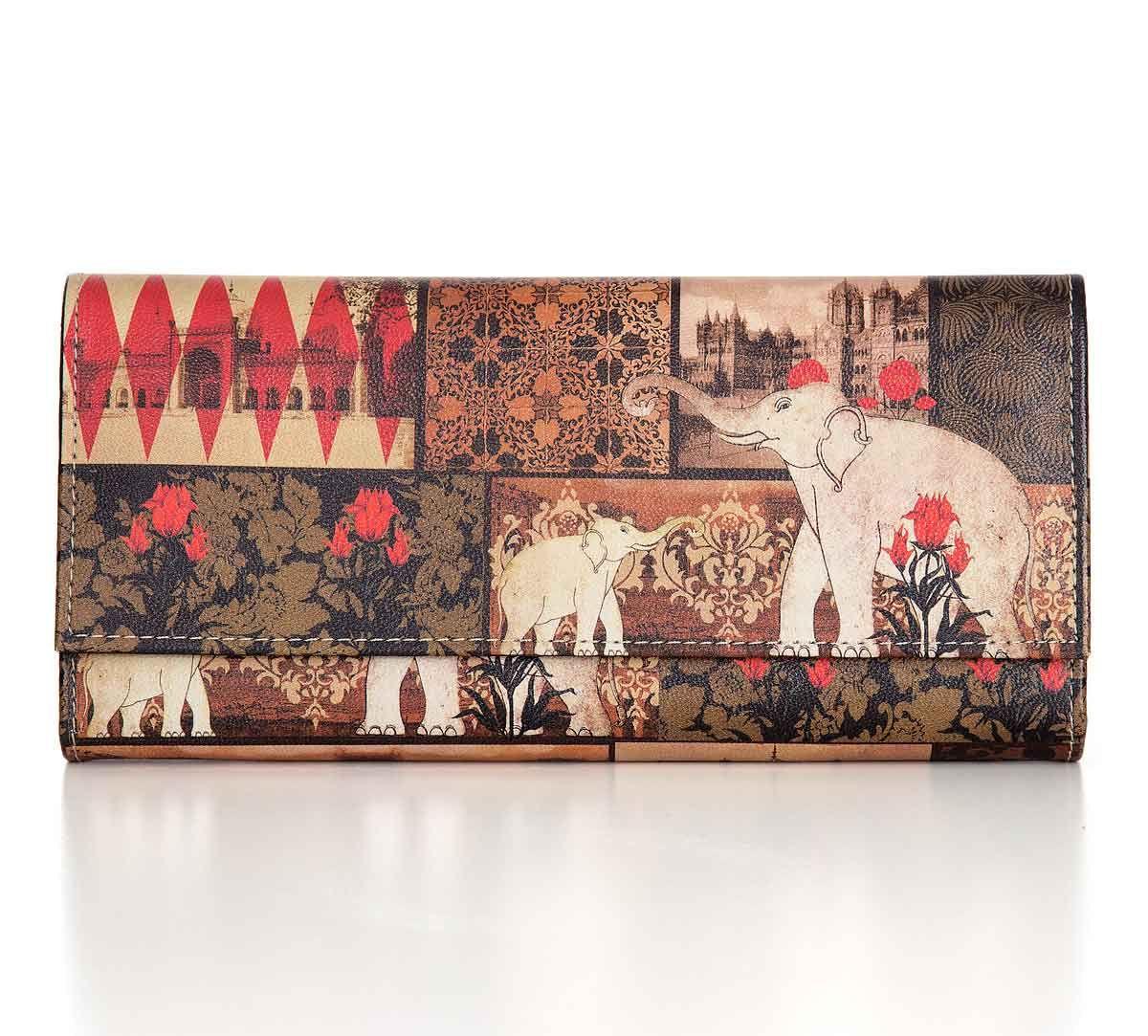 India Circus The Mughal Era Ladies Wallet