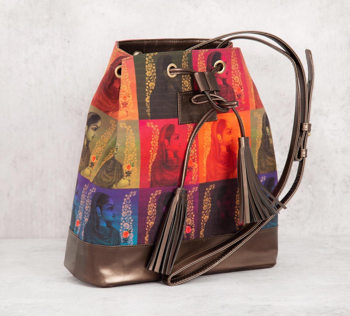 India Circus Tinted Queen Hobo Bag