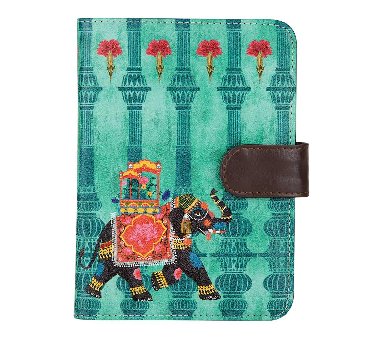 India Circus Tusker Chariot Passport Cover