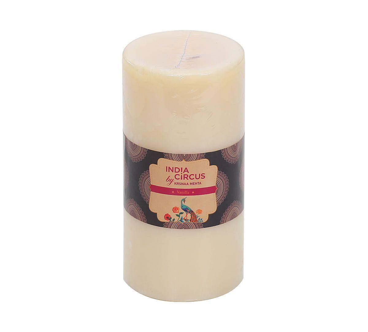 India Circus Vanilla Bean Pillar Candle