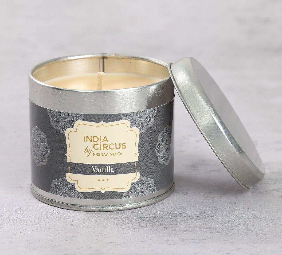 India Circus Vanilla Bean Tin Candle