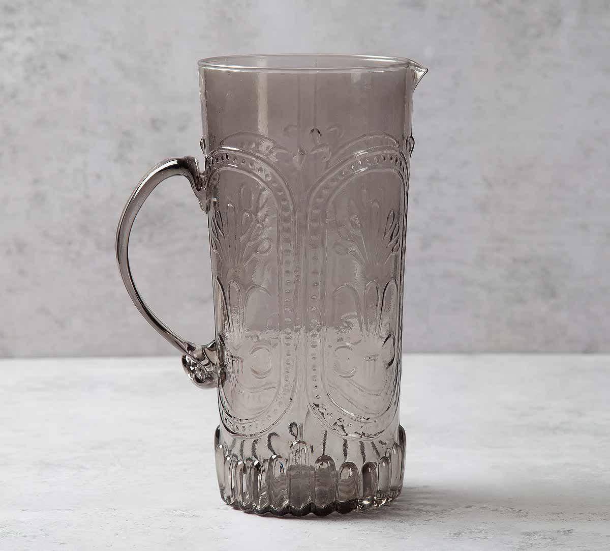 India Circus Vintage Glass Jug