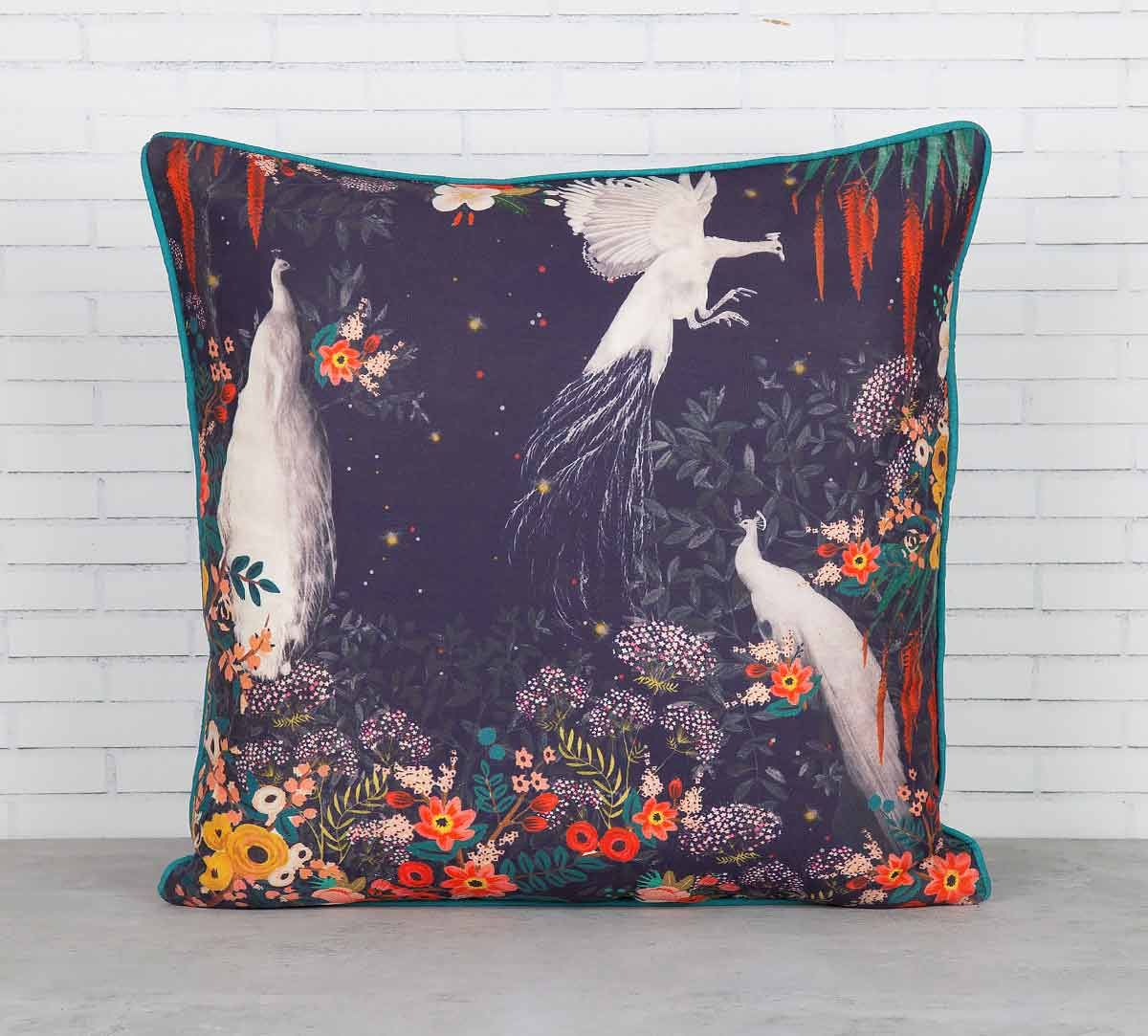 India Circus Vintage Spring Blended Taf Silk Cushion Cover
