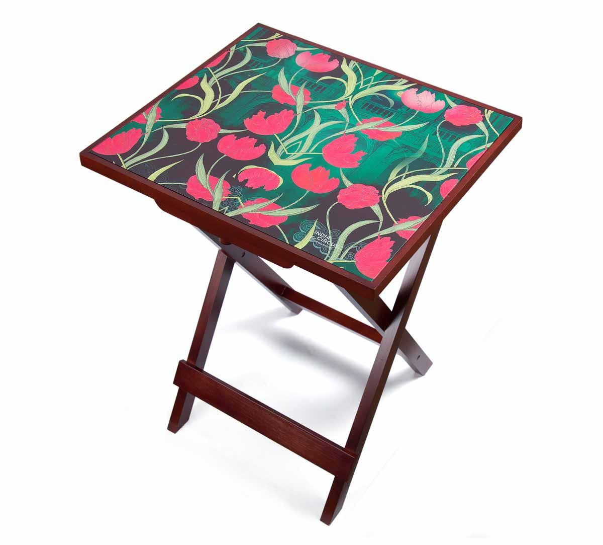 India Circus Waves of Blossom Side Table
