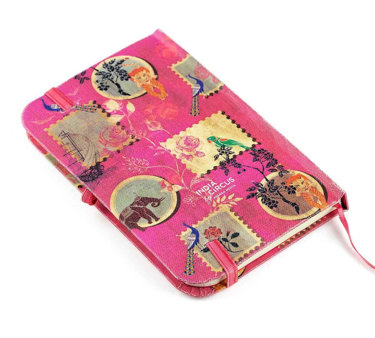 India Circus Wildlife Stamps Pocket Diary