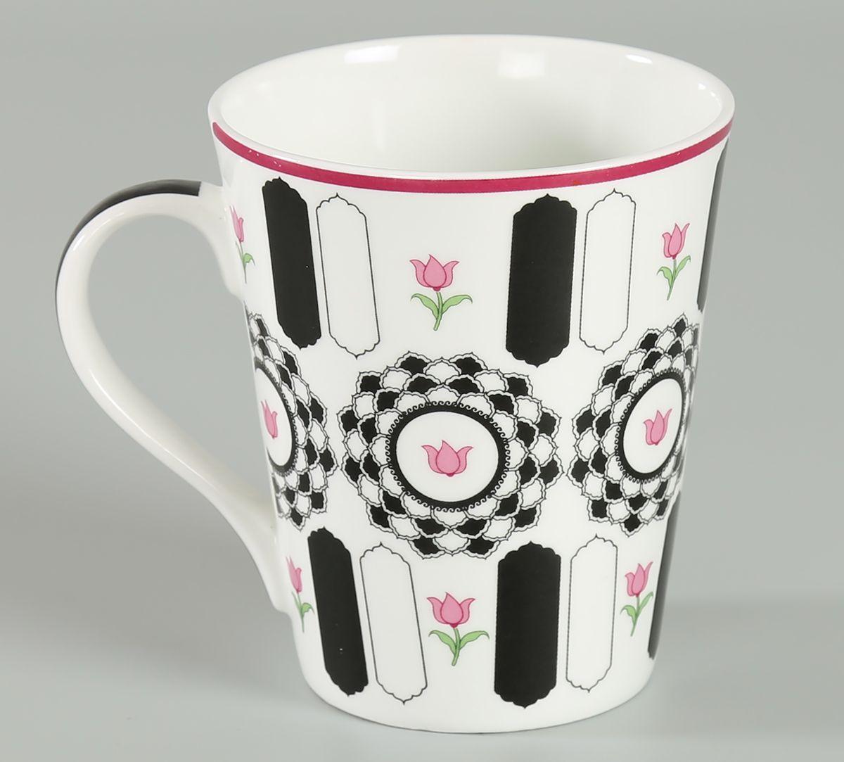 India Circus Appliqued Harmony Zing Mug (Set of 2)