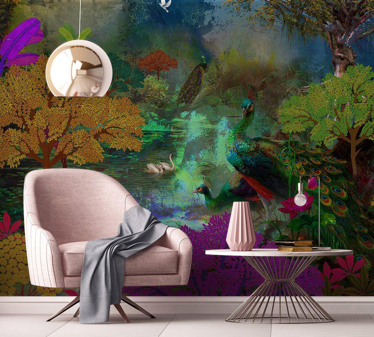 Kingdom of Paradise Palette Wallpaper