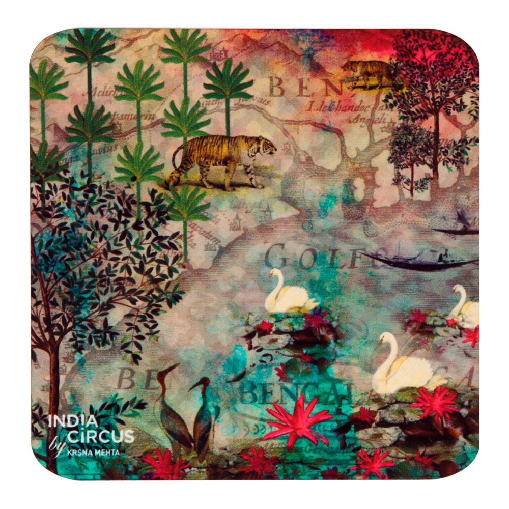 Kingdom Of Dreams MDF Coasters - (Set Of 6)