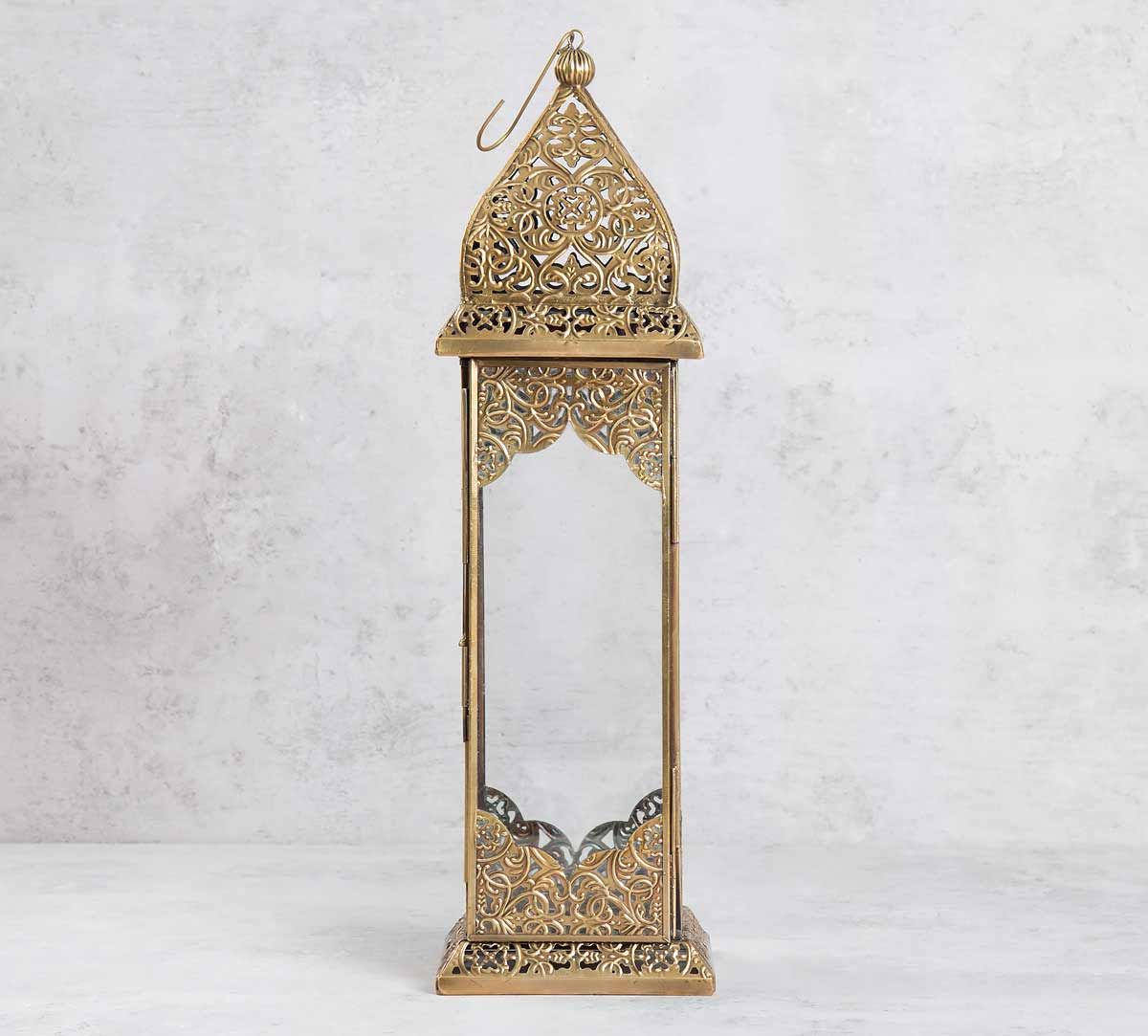 Metallic Ogee Moroccan Lantern