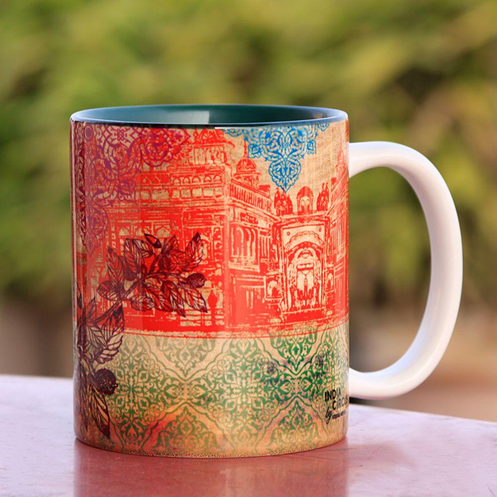 Peacock Saga Coffee Mug