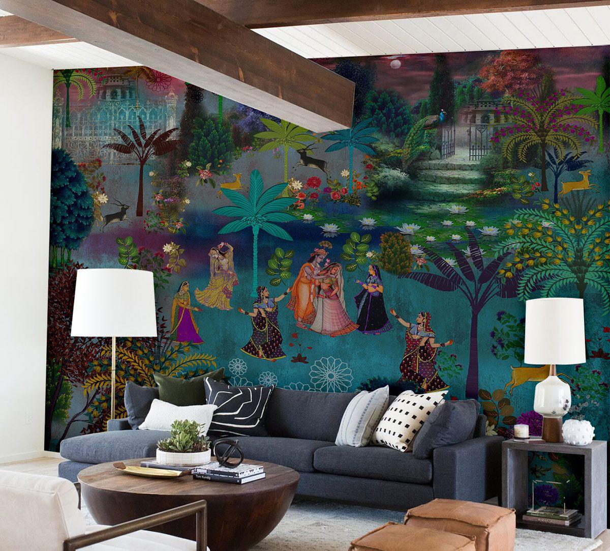 Nights of Raas Leela Wallpaper