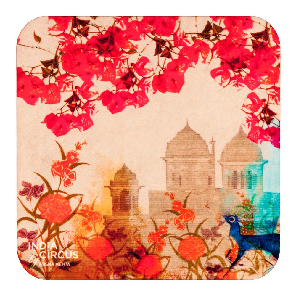 Palaces in Paradise MDF Coasters - (Set Of 6)