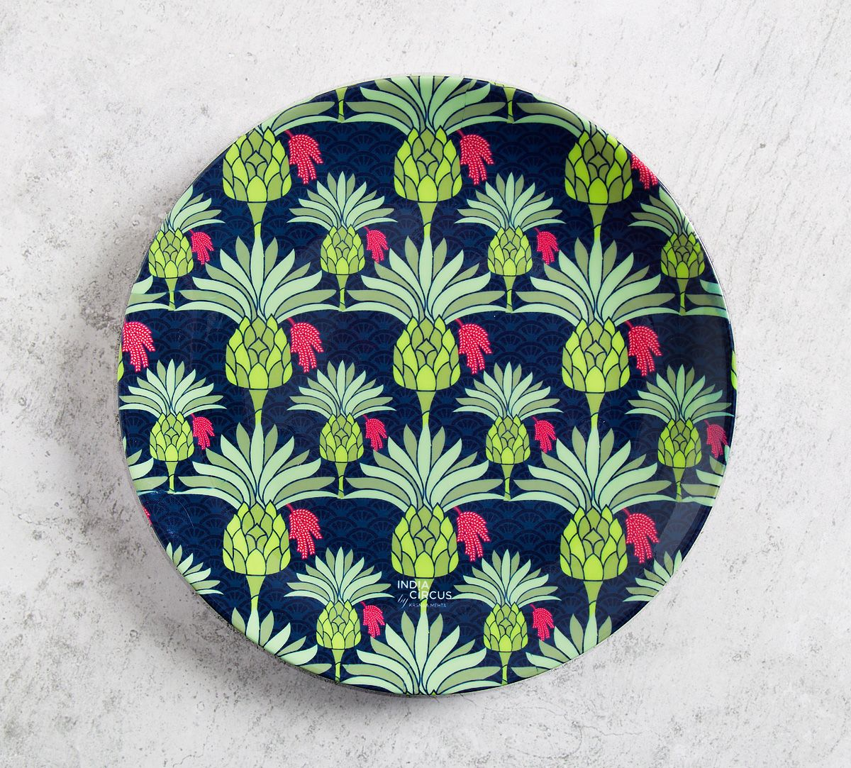 Palmeira Reiteration 8 inch Decorative and Snacks Platter