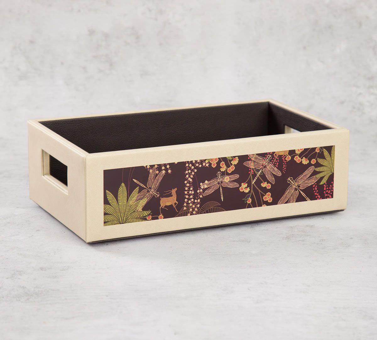 India Circus Palmeria Bloomer Leather Tray