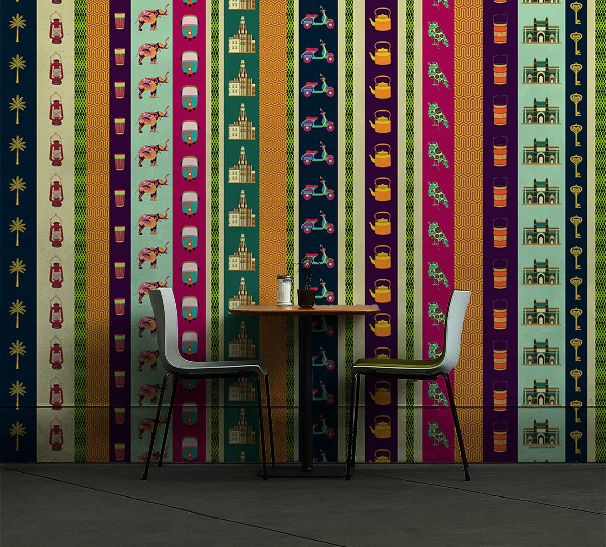 Pride and Glory Yellow Wallpaper
