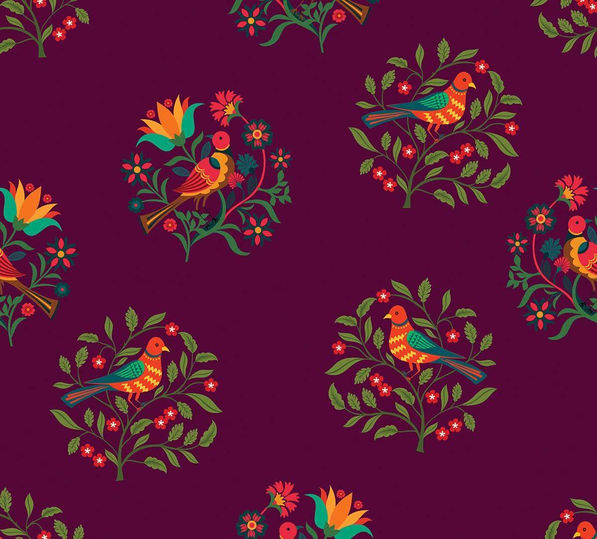 Psittacines Enquiry Medium Fabric