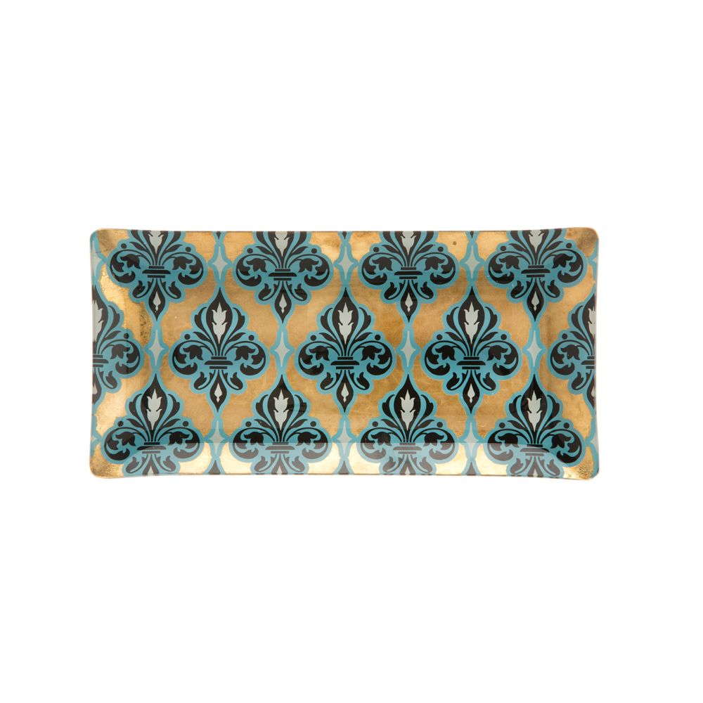 Tamara Bed Of Flowers Decorative Platter
