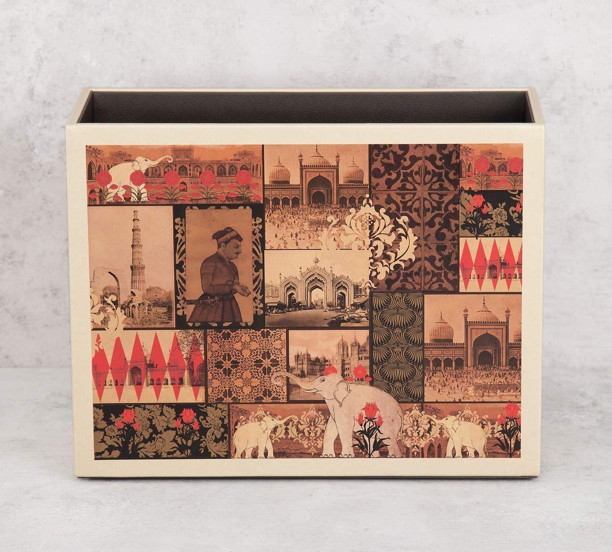India Circus by Krsnaa Mehta The Mughal Era Leather Magazine Holder