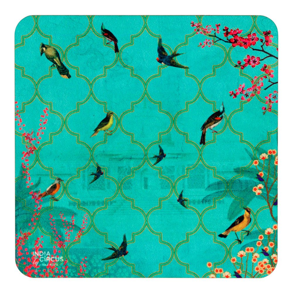 The World from my Window MDF Coaster - (Set of 6)