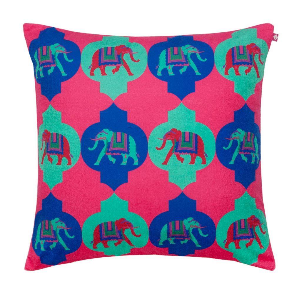 Tusker Treat Poly Velvet Cushion Cover