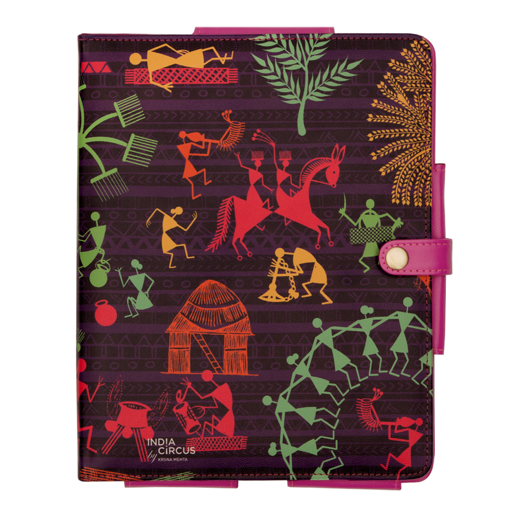 Warli Village iPad Cover