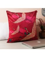 Yield of Divinity Blue Cotton Cushion Cover