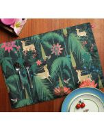 India Circus Forest Fetish Table Mats Set of 6