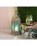 India Circus Dome Window Candle Lantern