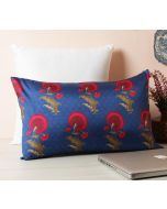 "India Circus Yale Flower Regalia 20"" x 12"" Blended Taf Silk Cushion Cover"