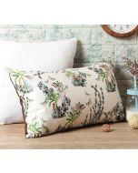 """India Circus Desert Plants 20"""" x 12"""" Blended Velvet Cushion Cover"""