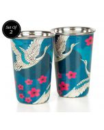 India Circus Aerial Moments Steel Tumbler Set of 2