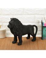 India Circus Black King of Beasts Figurine