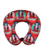 India Circus Buddatva Mandala Neck Pillow