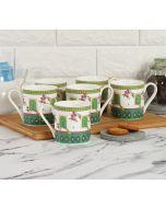 India Circus by Krsnaa Mehta Dandy Transcendence Espresso Mug Set of 6